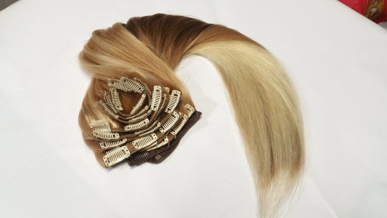 clip extension hair